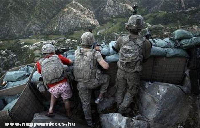 Katonák a fronton