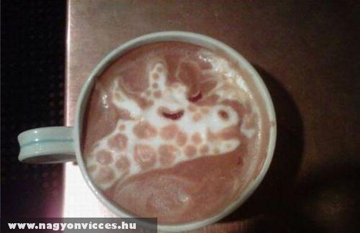 Állat a kávéban