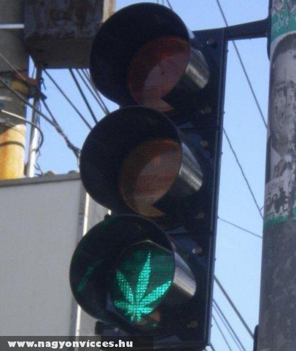 Zöld jelzés