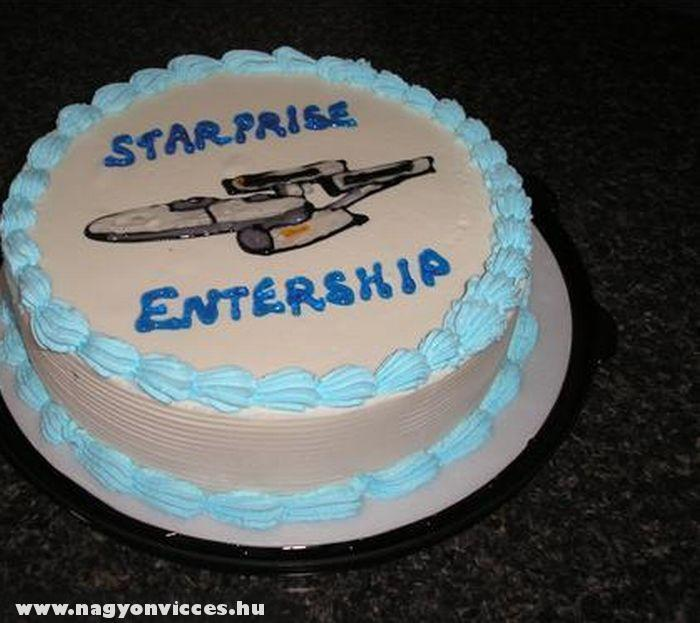 Star Trek torta