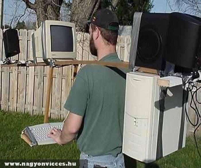 Hordozható számítógép