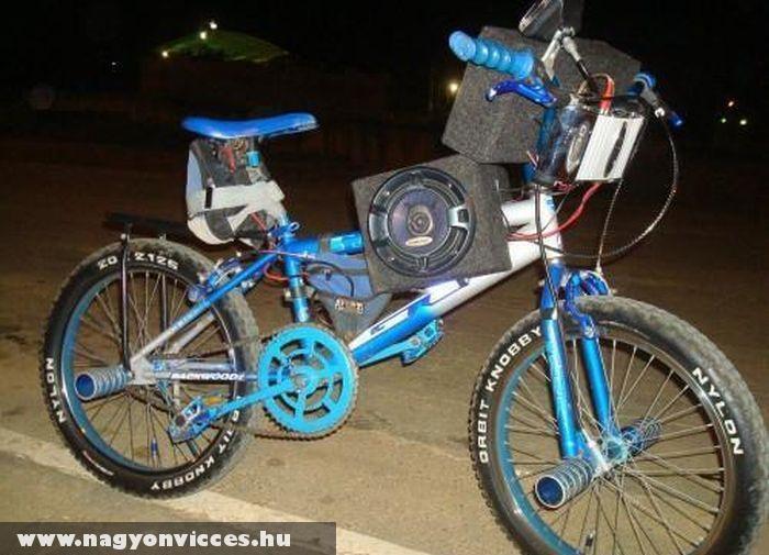 Tuning kerékpár