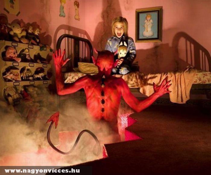 Ördög a szobában