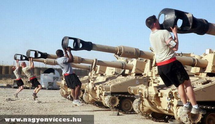 Kondiznak a katonák