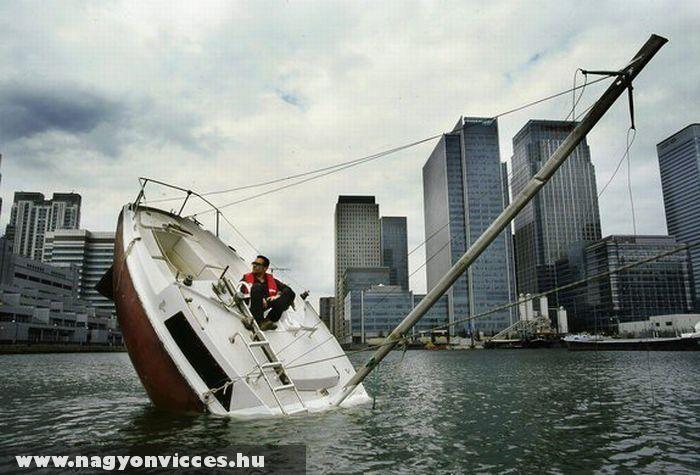 Süllyedõ hajó