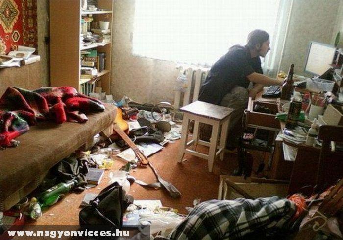 Rendetlen szoba