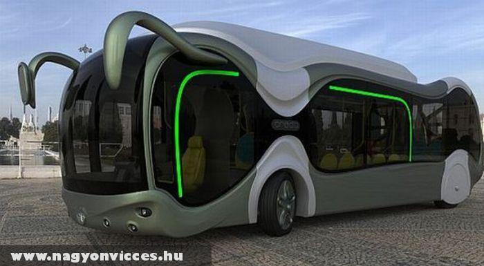 Formatervezett busz