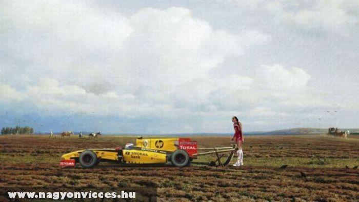 Az új traktor
