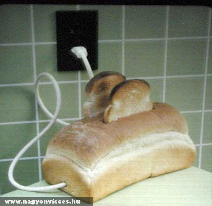 Vicces kenyérpirító