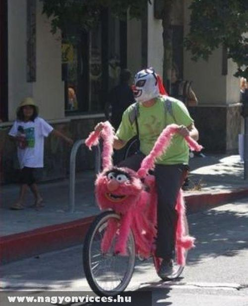 Bicikli a muppet showból