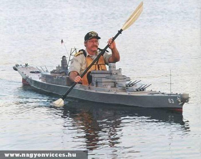 Kajak anyahajó