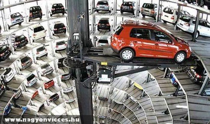 Japán parkolóház
