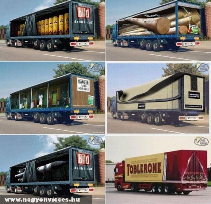 Kamion reklámok 2