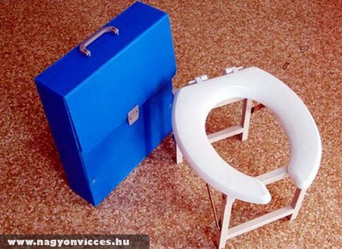 Hordozható WC ülõke