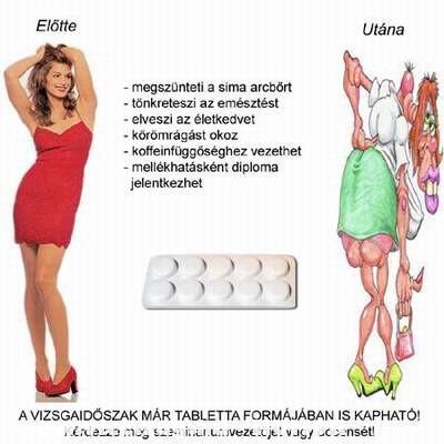 Vizsgaidõszak tabletta :
