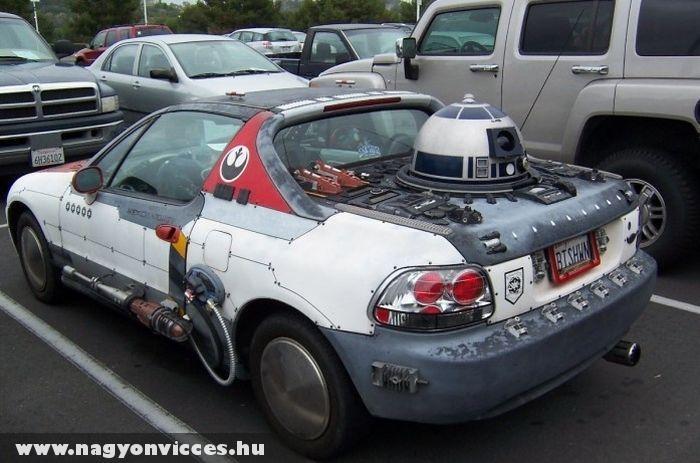 Star Wars autó