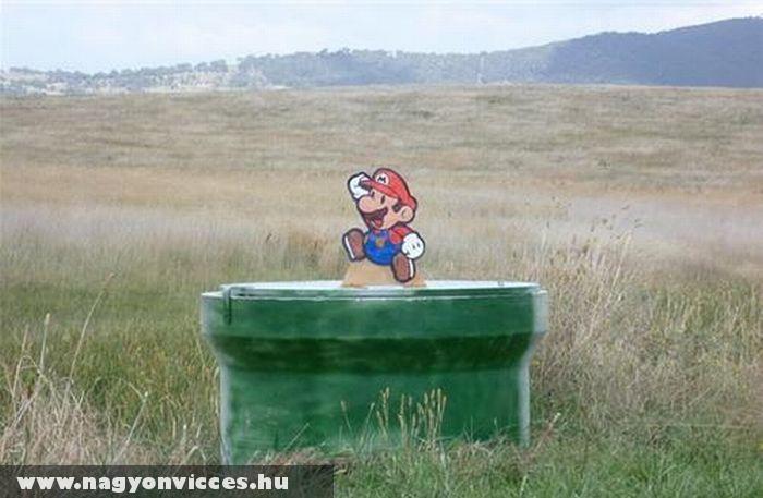 Mario a valóságban