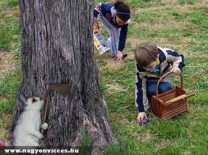 Gyerekek Kellemes Húsvéti Ünnepeket Kíván a KISnyuszi!