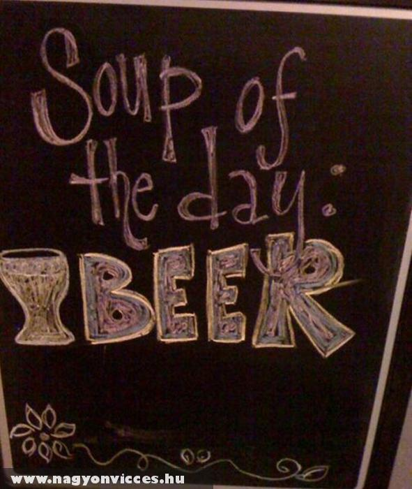 A nap levese - A sör