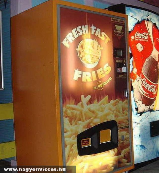 Sült krumpli automata