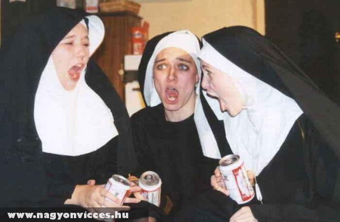 Részeg apácák