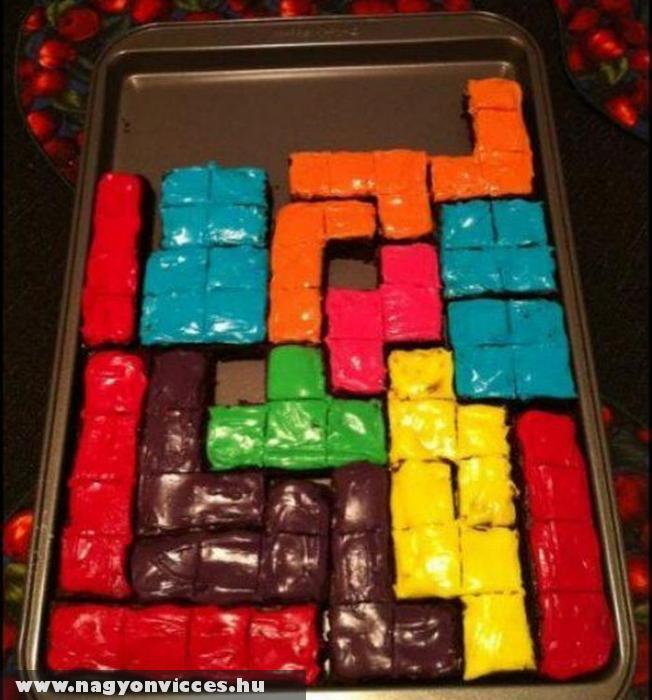Tetris süti
