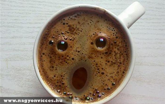 Megdöbbent kávé