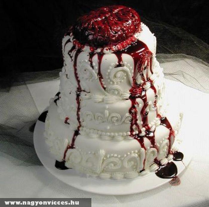 Horrorisztikus torta