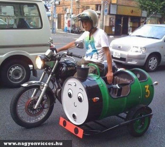 Thomas oldalkocsi