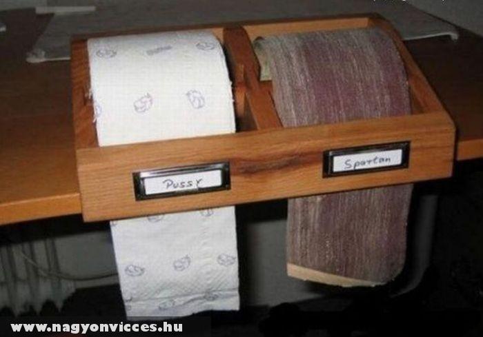 Wc papír választék