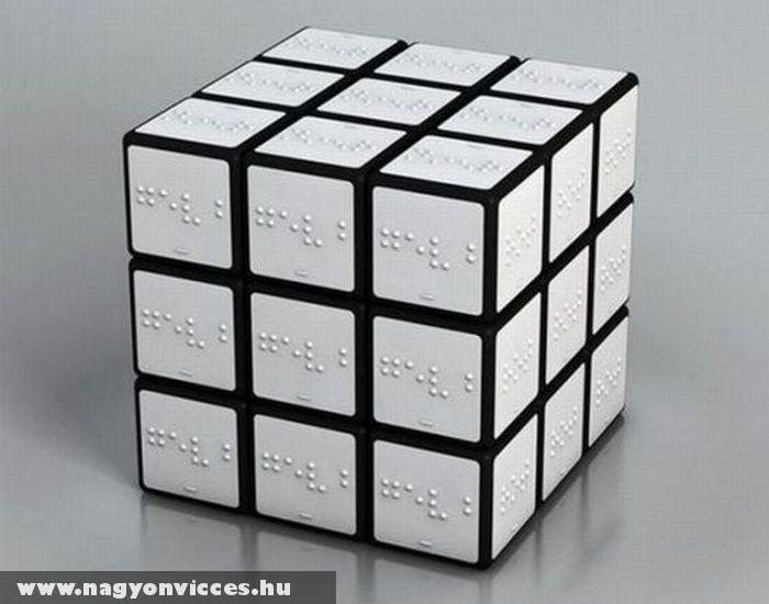 Rubik kocka vakoknak