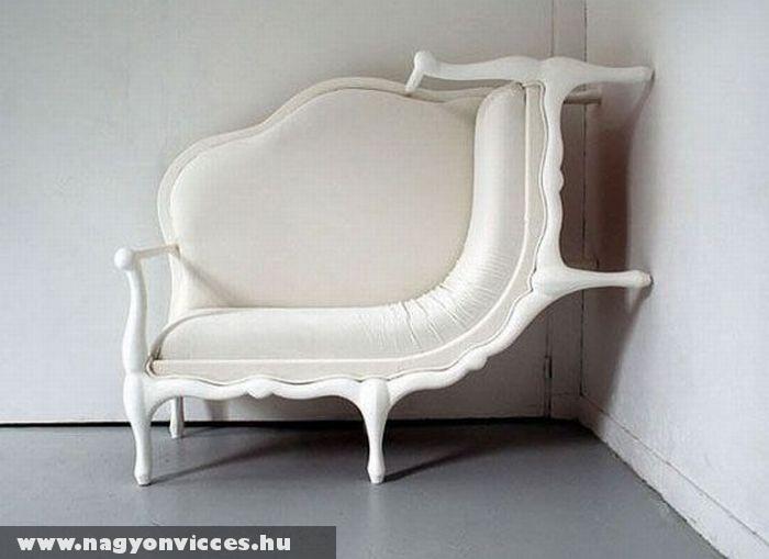 Érdekes kanapé