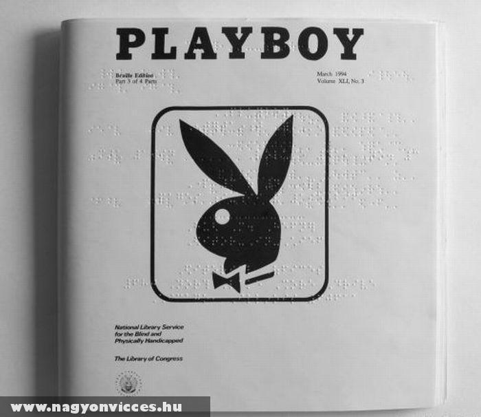 Playboy vakoknak
