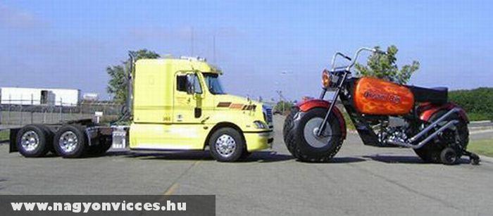 Kamion méret motor