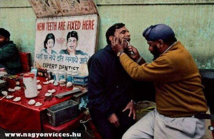 Indiai fogászat