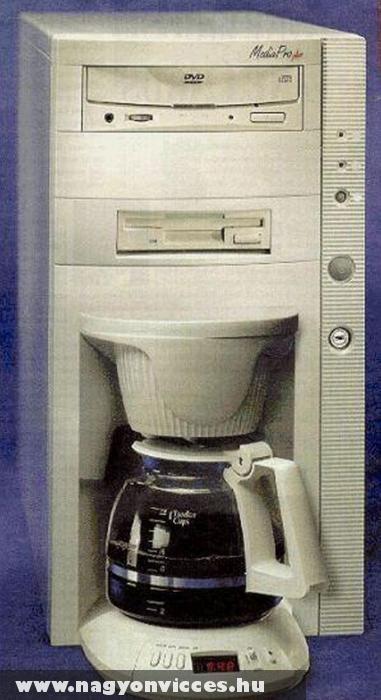 Az eredeti kávégép