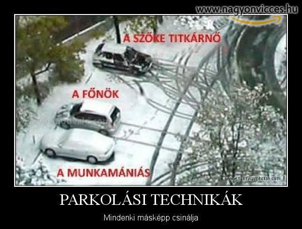 A parkolásod megmutatja, hogy ki vagy!