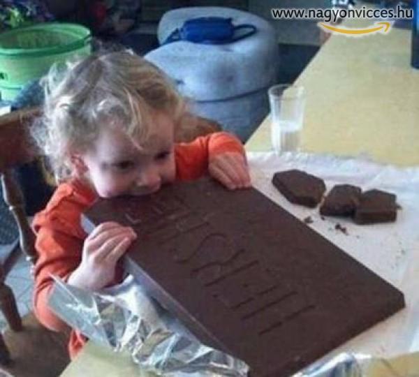 Csokit enni jó!