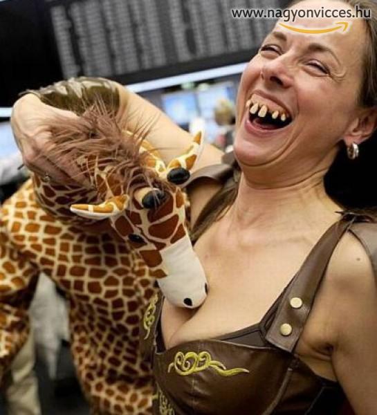 Izgat a zsiráf!
