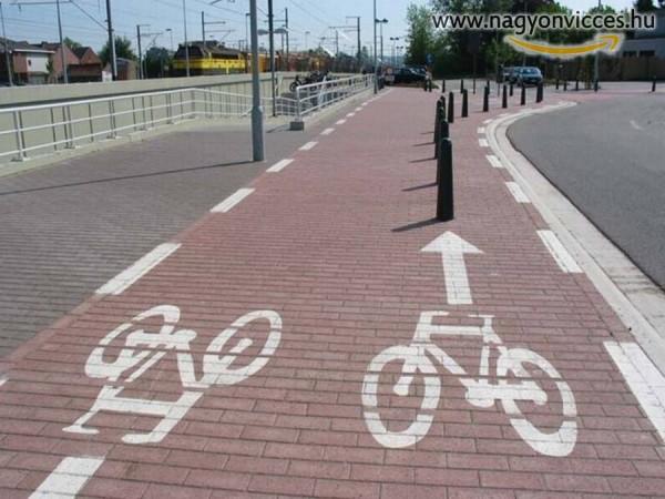 Jó kis kerékpárút :)