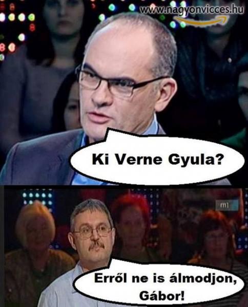 Ki Verne Gyula?!