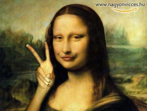 Mona Lisa kettőt mutat