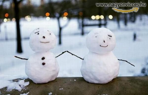 Szeretet hóember