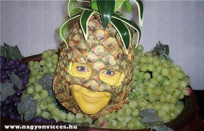 Ananász fej