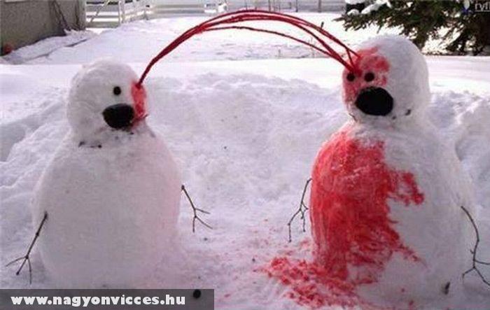 Horror a hóban