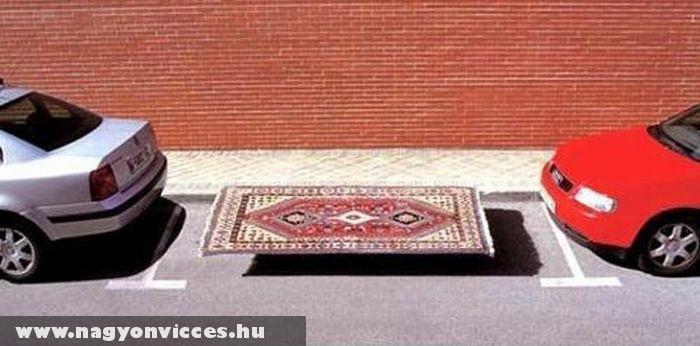 Aladdin parkolóhelye