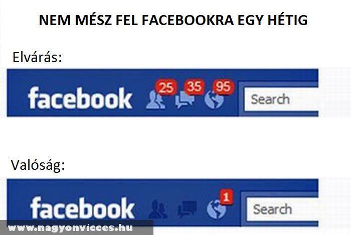 Facebook valóság