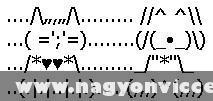 Cica és kutya írásjelekbõl
