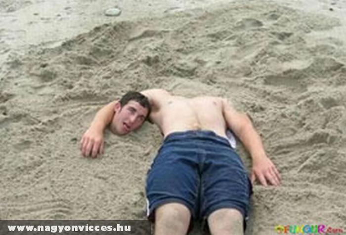 Fej nélkül a parton