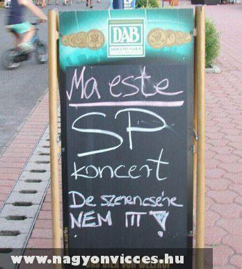 SP koncert!